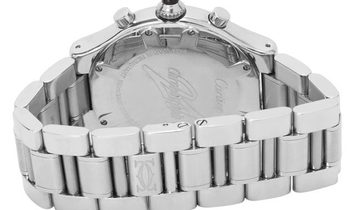 Cartier Chronoscaph 21  W10172T2 2424, Baton, 2005, Good, Case material Steel, Bracelet