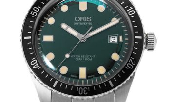 Oris Divers 01 733 7720 4057 8 21 18, Baton, 2018, Very Good, Case material Steel, Brac