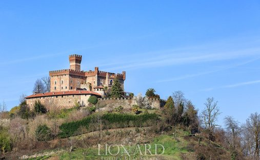 Castle in Piemonte, Italy
