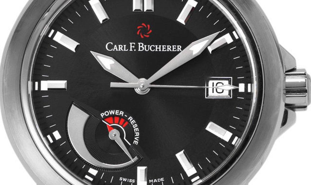 Bucherer Patravi   10616.08.33.01, Baton, 2012, Very Good, Case material Steel, Bracele