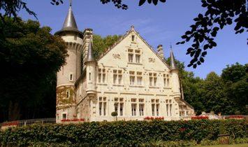 Castello a Poitiers, Nuova Aquitania, Francia 1