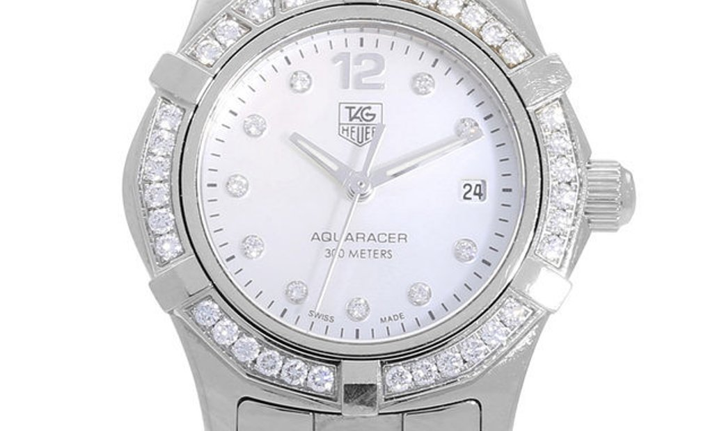 TAG Heuer Aquaracer WAF1416.BA0813, Arabic Numerals, 2010, Very Good, Case material Ste
