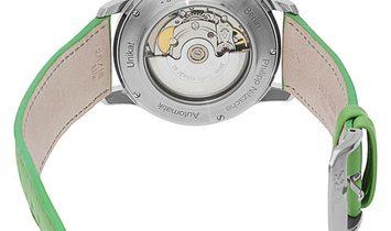 P. Nitzsche Sour Apple Unikat, Plain, 2018, Unworn, Case material Steel, Bracelet mater