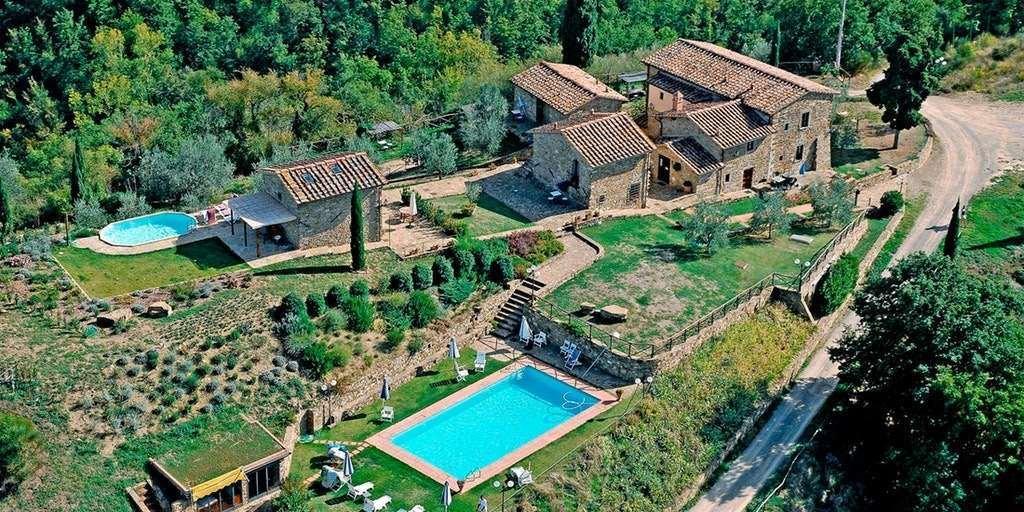 Замок в Греве-ин-Кьянти, Тоскана, Италия 1 - 11004323