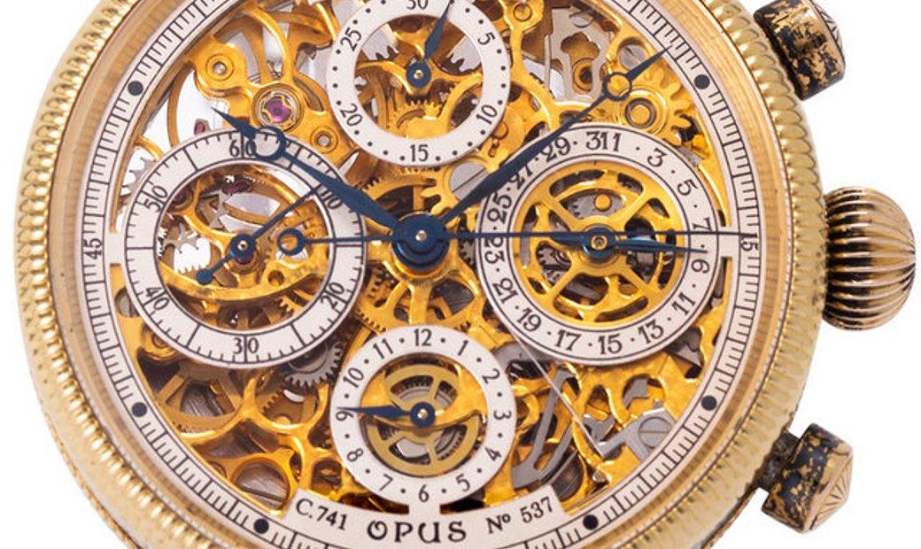 Chronoswiss Opus CH7522SR, Plain, 2010, Used, Case material Steel, Bracelet material: S