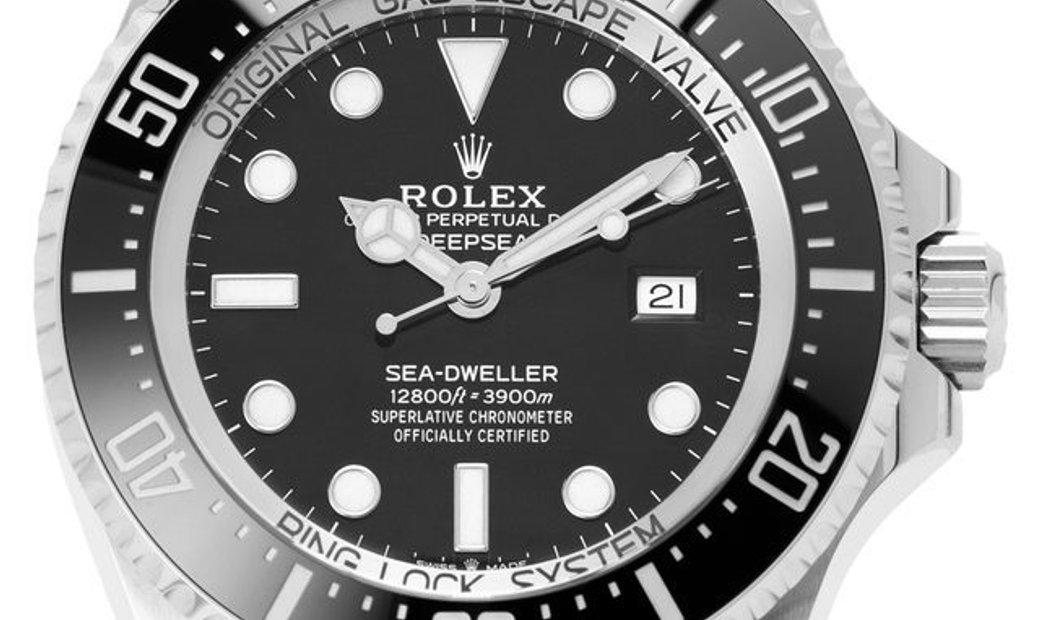 Rolex Deepsea 126660, Baton, 2019, Very Good, Case material Steel, Bracelet material: S