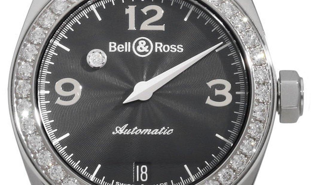 Bell and Ross Mystery Diamonds MDBD2.001, Arabic Numerals, 2008, Very Good, Case materi