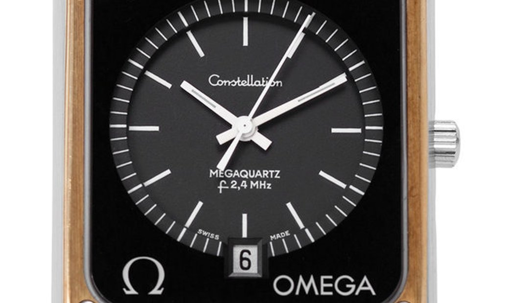 Omega Constellation Megaquartz 198.0082 , Baton, 1975, Good, Case material Steel, Brace