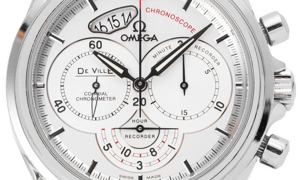 Omega De Ville 4850.30.37, Baton, 2011, Very Good, Case material Steel, Bracelet materi