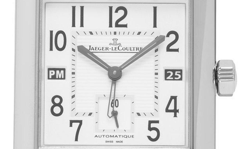 Jaeger-LeCoultre Reverso Squadra Hometime  230.8.77, Arabic Numerals, 2011, Very Good,