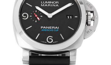Panerai Luminor 1950 PAM00727, Baton, 2016, Very Good, Case material Steel, Bracelet ma
