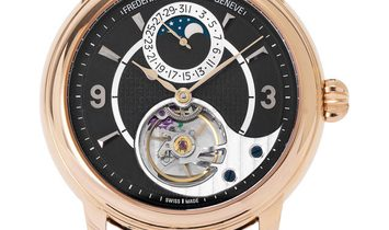 Frederique Constant Heart Beat FC-942ABS4H9, Arabic Numerals, 2019, Very Good, Case mat