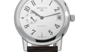 Zenith Port Royal Round 01.0451.680/02.C491, Arabic Numerals, 2005, Very Good, Case mat