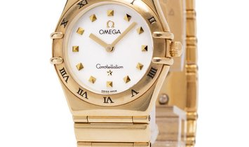 Omega Constellation My Choice 1171.71.00, Baton, 2002, Very Good, Case material Yellow
