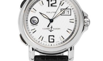 Ulysse Nardin Dual Time 223-88, Baton, 2005, Good, Case material Steel, Bracelet materi