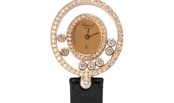 Chopard Happy Diamonds 5199, Baton, 1987, Very Good, Case material Yellow Gold, Bracele