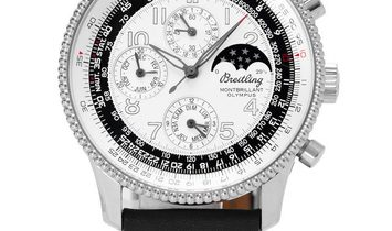 Breitling Montbrillant Olympus A19350, Arabic Numerals, 2008, Very Good, Case material