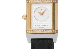 Jaeger-LeCoultre Reverso Duetto 266.5.44, Arabic Numerals, 2007, Used, Case material St