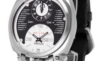 Anonimo Firenze 2009, Arabic Numerals, 2012, Unworn, Case material Steel, Bracelet mate