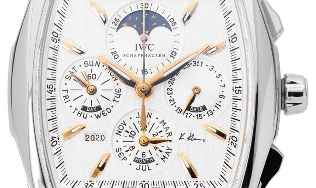 IWC Da Vinci Perpetual Calendar  IW376204, Baton, 2011, Very Good, Case material Steel,