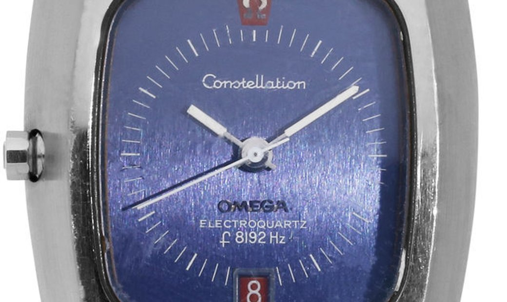 Omega Constellation Electroquartz F8192 196.005, Baton, 1970, Used, Case material Steel