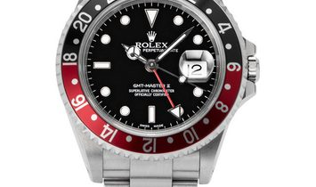 Rolex GMT-Master II 16710, Baton, 2002, Very Good, Case material Steel, Bracelet materi