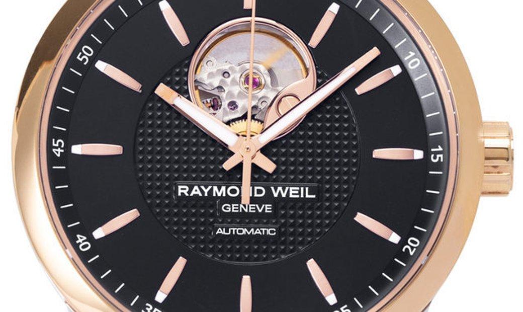 Raymond Weil Freelancer 2710-SP5-20021, Baton, 2018, Very Good, Case material Steel, Br