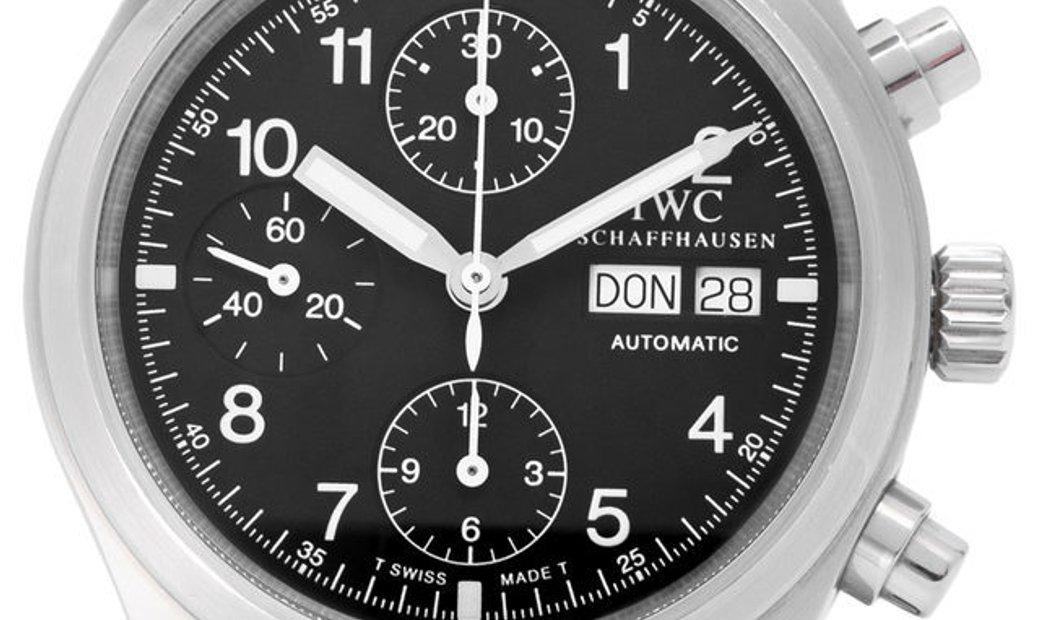 IWC Pilots Chronograph IW370603, Baton, 2005, Good, Case material Steel, Bracelet mater