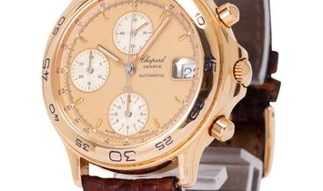 Chopard Linea d'Oro 34/1202, Baton, 1991, Very Good, Case material Yellow Gold, Bracele