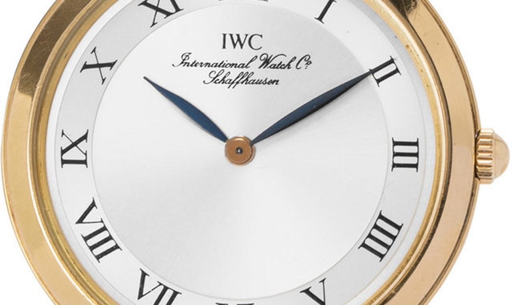 IWC Portofino IW2009, Roman Numerals, 1999, Very Good, Case material Yellow Gold, Brace