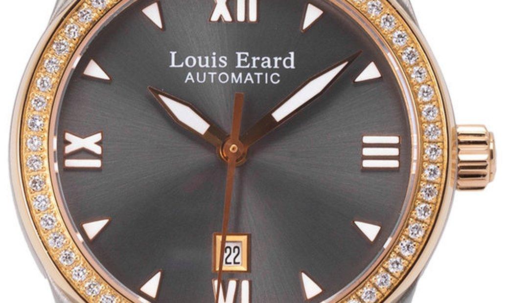 Louis Erard Heritage 20 100 SB 22, Baton, 2015, Very Good, Case material Steel, Bracele