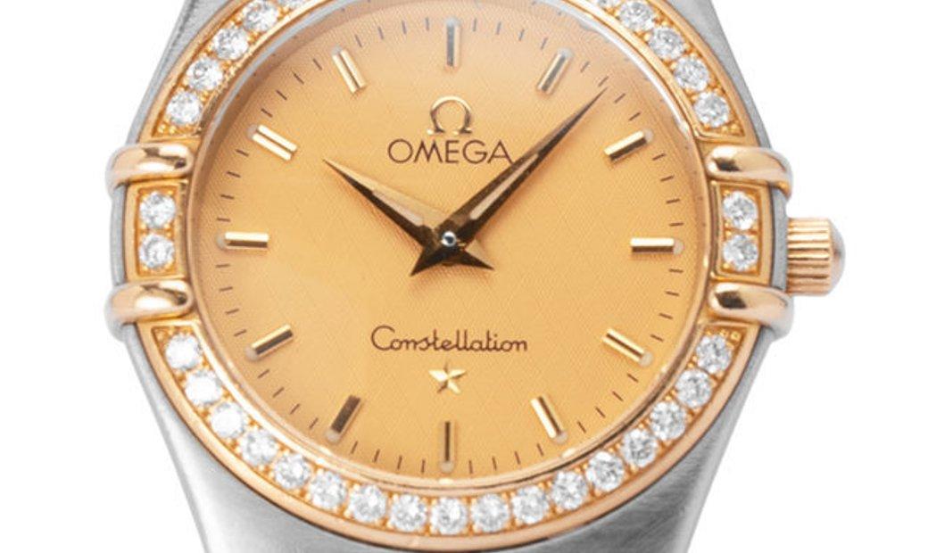 Omega Constellation Ladies 1277.10.00, Baton, 1998, Good, Case material Steel, Bracelet