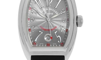 Franck Muller Conquistador 8005 SC, Arabic Numerals, 2014, Very Good, Case material Ste