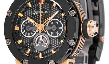 Rebellion Predator Automatic , Baton, 2012, Good, Case material Rose Gold, Bracelet mat