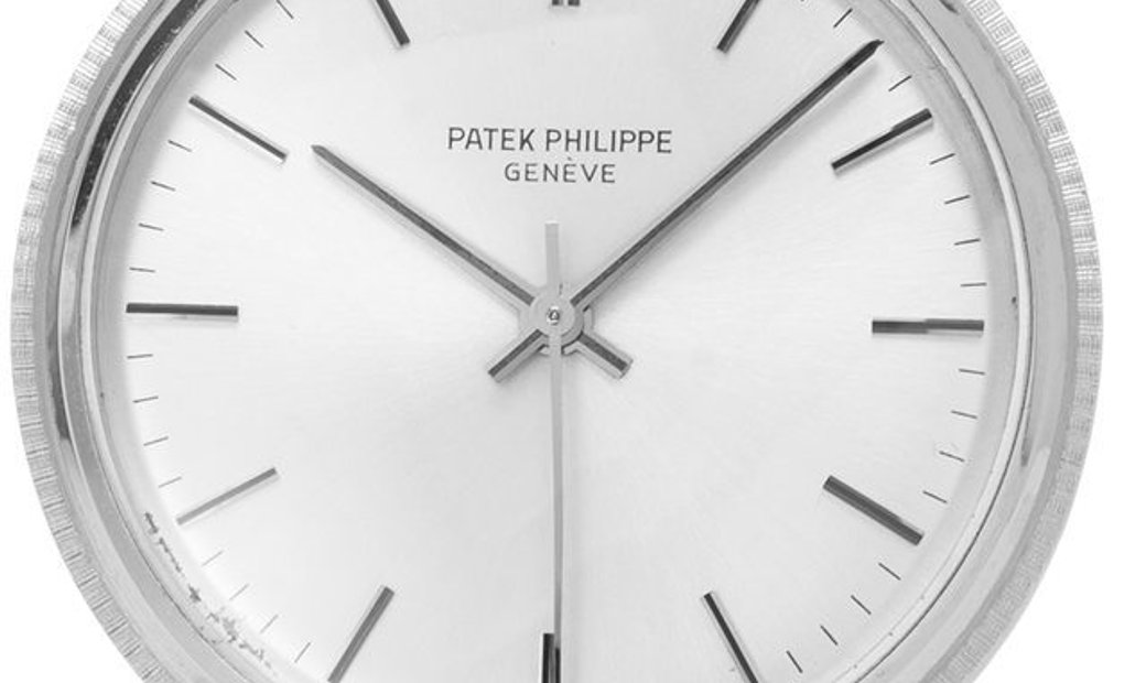 Patek Philippe Calatrava 3563, Baton, 1970, Very Good, Case material White Gold, Bracel