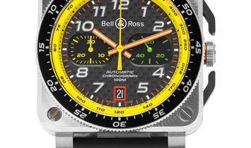 Bell and Ross BR03-94 Chronograph BR0394-RS19/SRB, Arabic Numerals, 2020, Unworn, Case