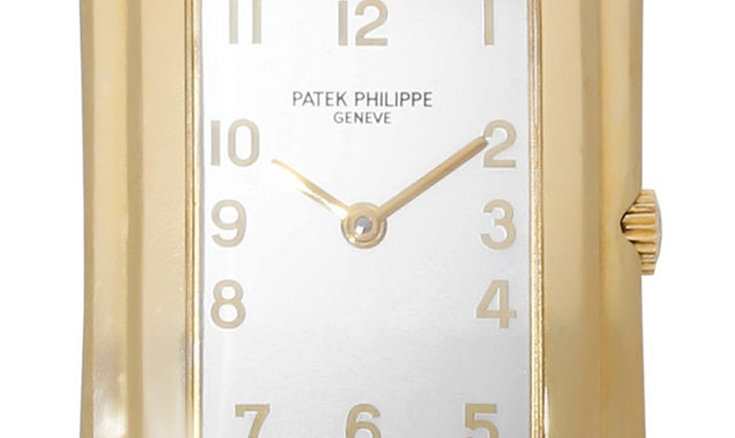 Patek Philippe Gondolo 4824, Arabic Numerals, 1996, Very Good, Case material Yellow Gol