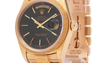 Rolex Day-Date 18078, Baton, 1981, Good, Case material Yellow Gold, Bracelet material: