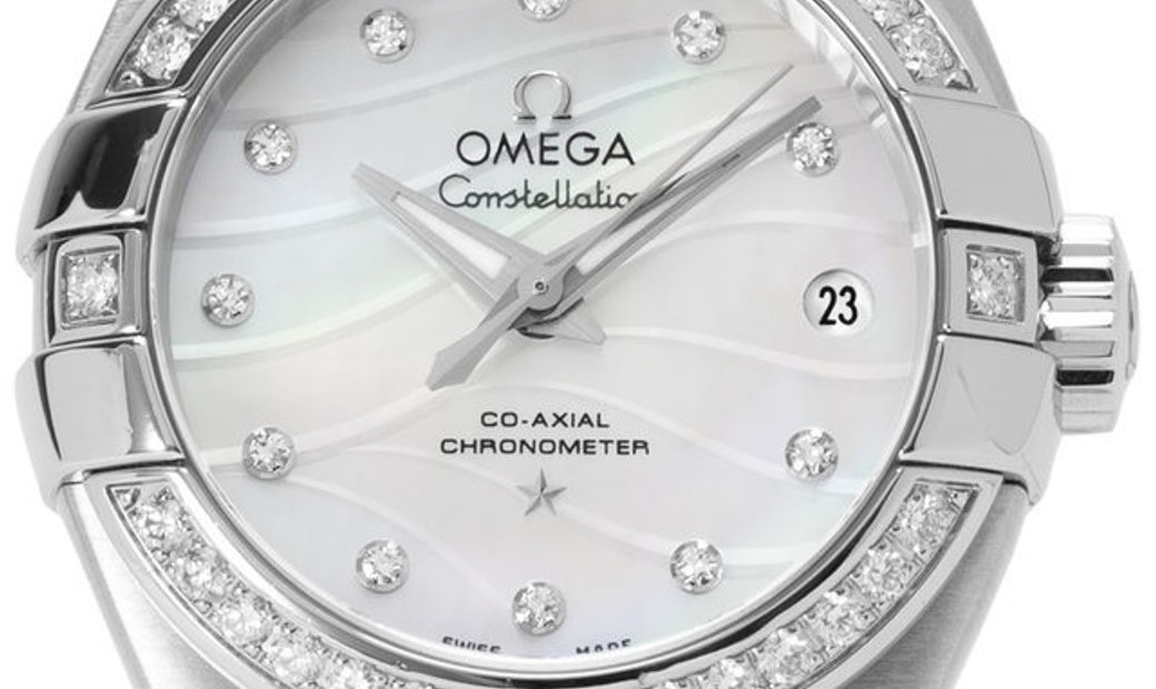 Omega Constellation 123.15.27.20.55.002, Baton, 2017, Good, Case material Steel, Bracel
