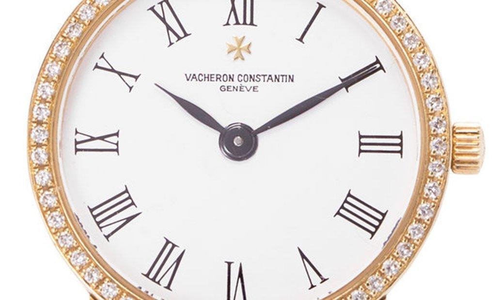 Vacheron Constantin Patrimony 27593/000J-3, Roman Numerals, 1997, Very Good, Case mater