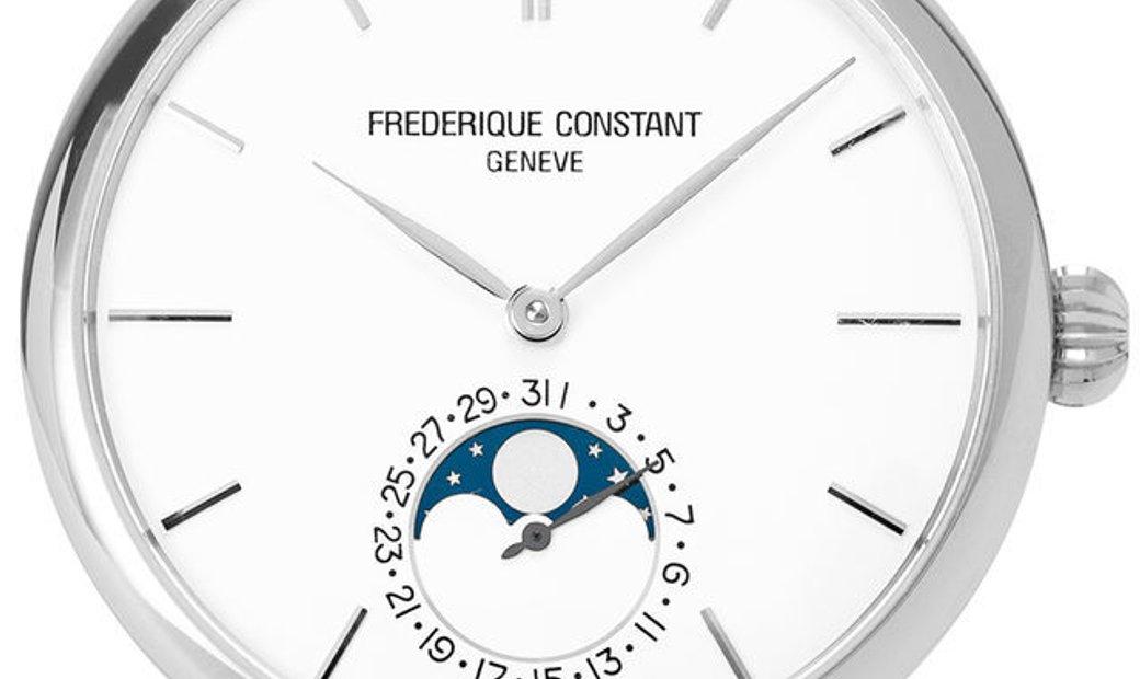Frederique Constant Slimline Moonphase  FC-705X4S4/5/6 , Baton, 2016, Very Good, Case m