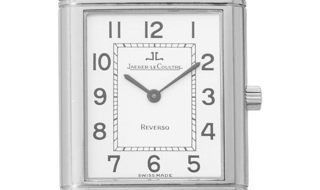 Jaeger-LeCoultre Reverso Classique 250.8.86, Arabic Numerals, 2007, Very Good, Case mat