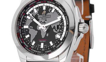 Breitling Galactic Unitime WB3510U4.BD94.435X.A20BA.1, Baton, 2018, Good, Case material