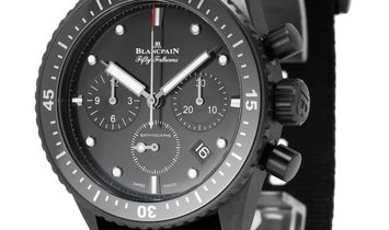 Blancpain Fifty Fathoms Bathyscaphe 5200-0130, Baton, 2019, Very Good, Case material Ce