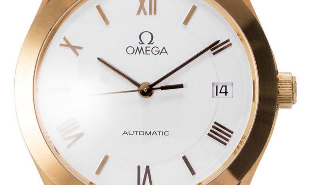 Omega Speedmaster 166.0295, Baton, 1998, Good, Case material Yellow Gold, Bracelet mate