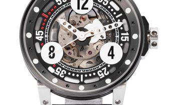 B.R.M V6-44 Sport V6-44-SPORT, Arabic Numerals, 2018, Good, Case material Steel, Bracel