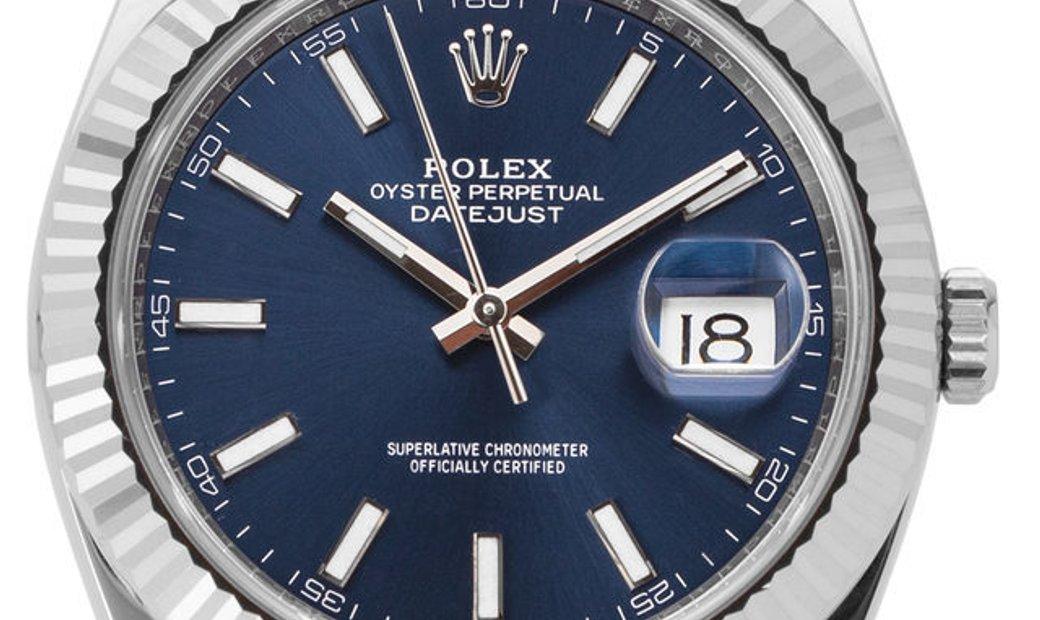 Rolex Datejust 126334, Baton, 2019, Very Good, Case material Steel, Bracelet material: