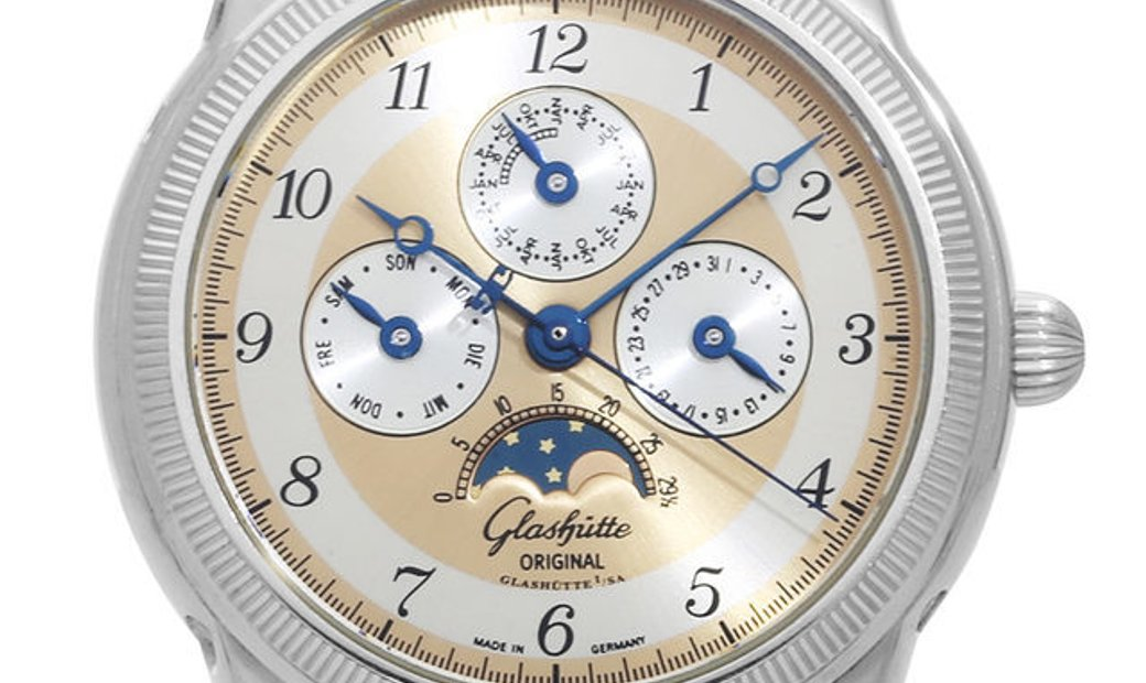 Glashütte Original  1845 Perpetual Calendar  4901010104, Arabic Numerals, 1996, Very Go