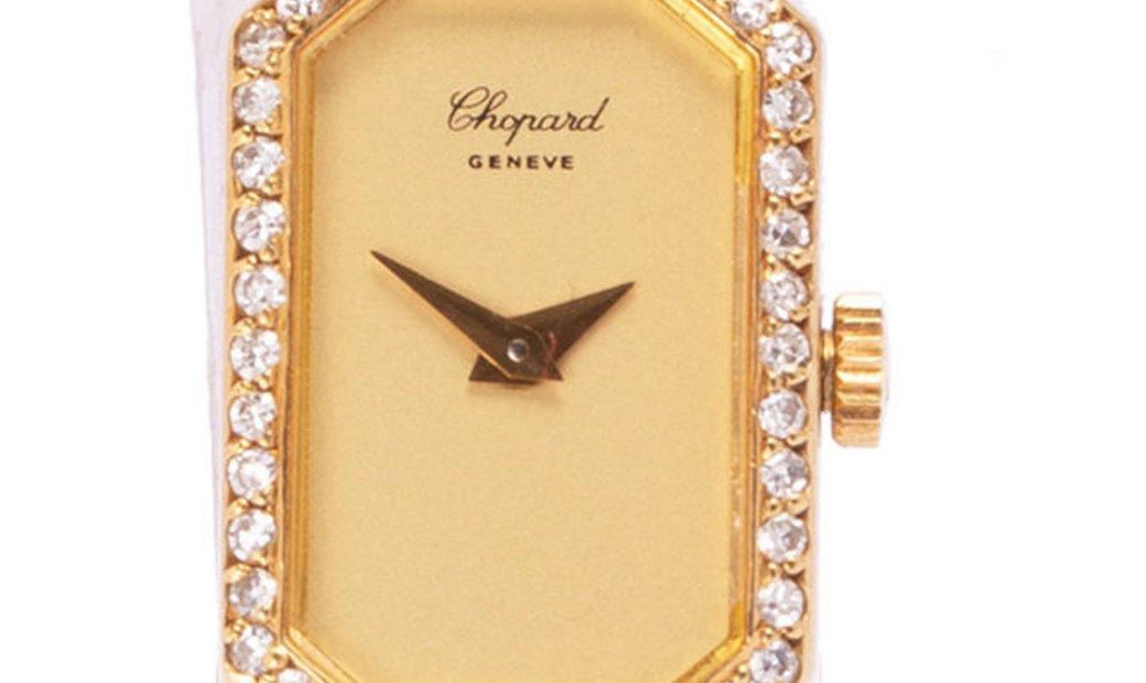 Chopard Vintage  G 3822, Plain, 1984, Very Good, Case material Yellow Gold, Bracelet ma