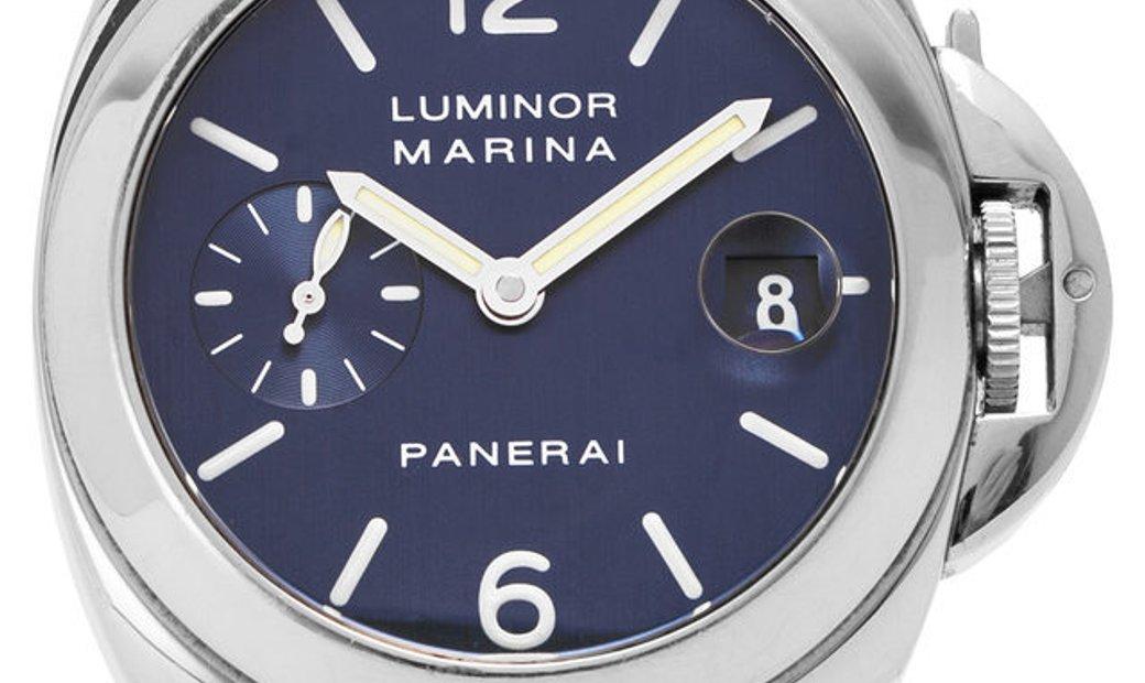 Panerai Luminor Marina PAM00070, Baton, 2000, Good, Case material Steel, Bracelet mater